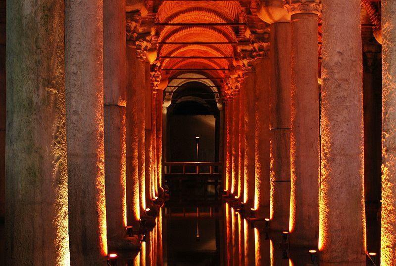 Istanbul-Basilica-Cistern